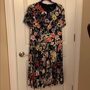 Never worn, tags attached pleated skirt dress